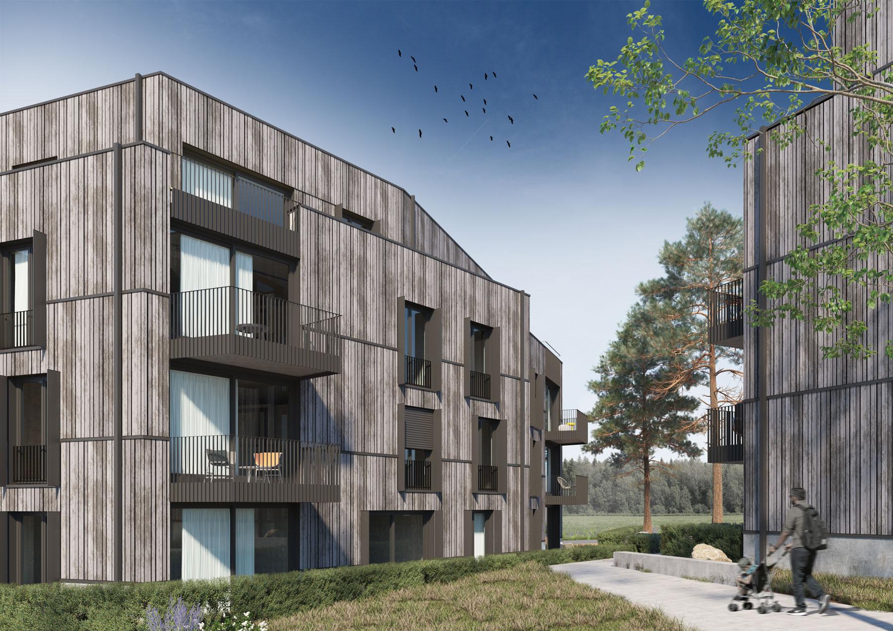 3dkad-3D-Visualisierung-Holzbau-Wohnungsbau-Calw-Mehrfamilienhaus