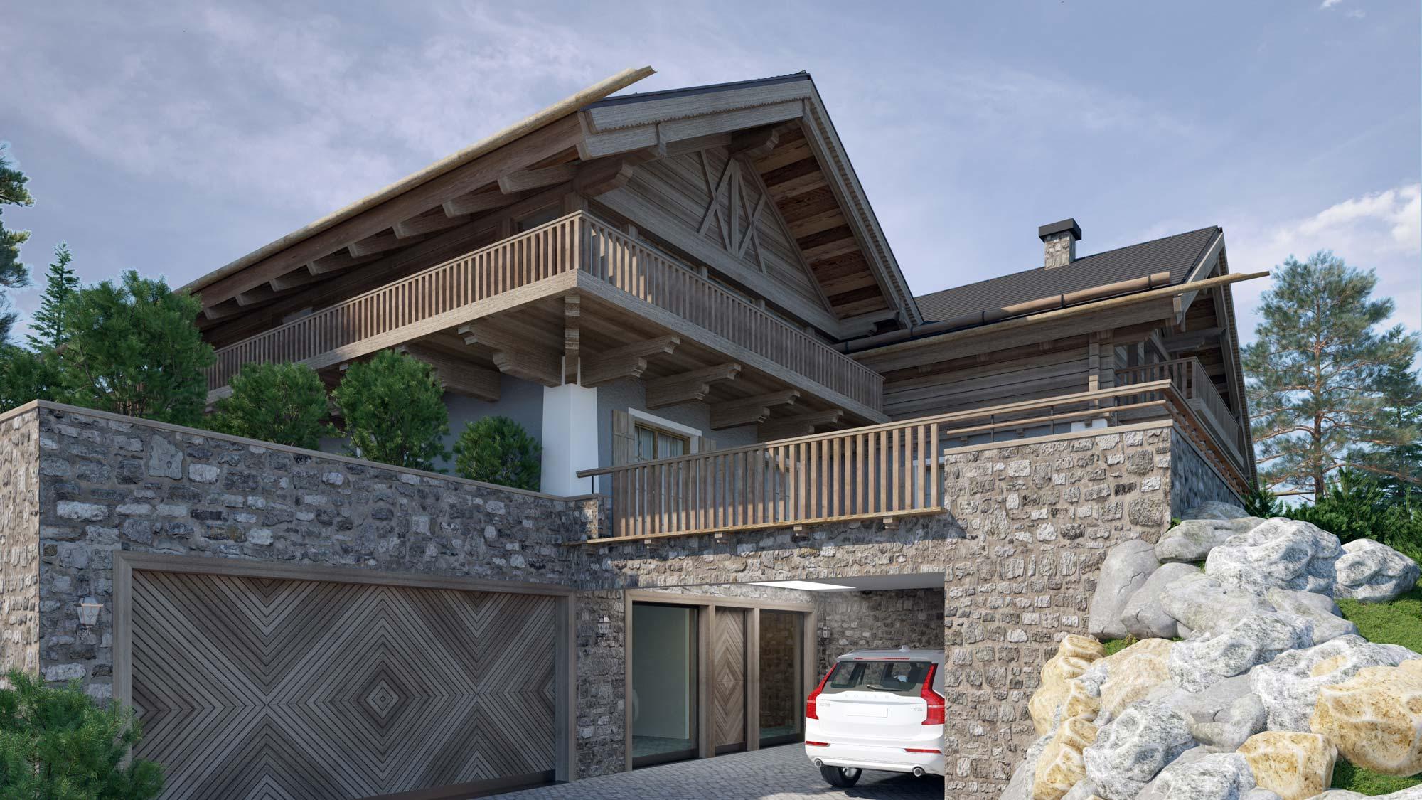 3dkad-3D-Visualisierung-Holzbau-Wohnungsbau-Icking-Einfamilienhaus