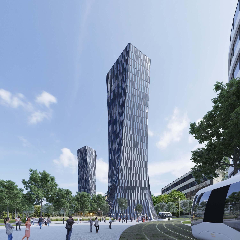 3dkad-3D-Visualisierung-Bürogebäude-Hochhaus-München-ZAM